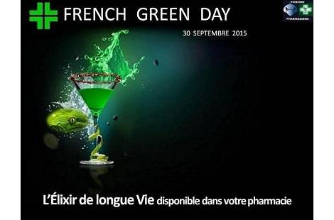 Les Pigeons Pharmaciens lancent le French Green Day-1