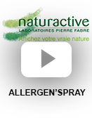 Spray : ALLERGEN'spray (vidéo)